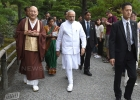 Indian Prime Minister Narendra Modi in Japan