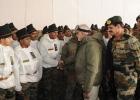 Narendra Modi celebrates Diwali with troops on Siachen
