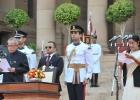 Sushma Swaraj takes oath as minister