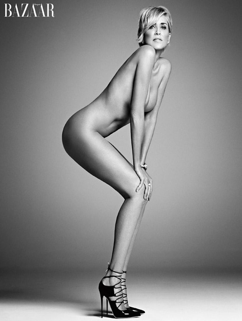 sharon-stone-poses-nude-in-harpers-bazaar