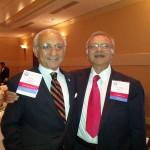 Dr Harvinder Sahota (right)