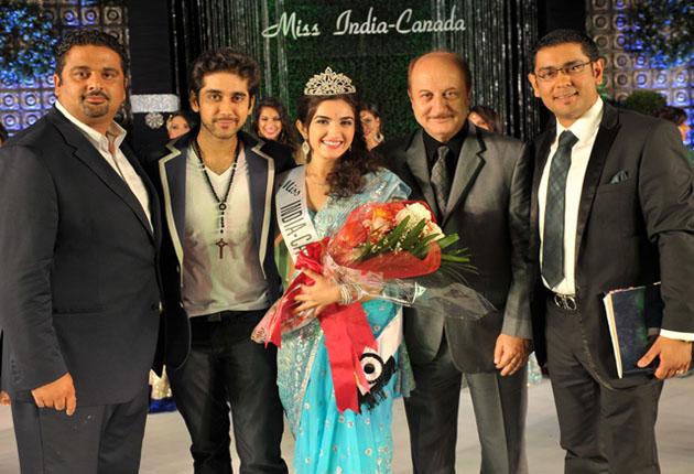 Mallika Kapur is Miss India-Canada