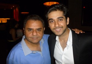 Ajay Virmani and his actor son Vinay Virmani were also there for their friend Anupam Kher