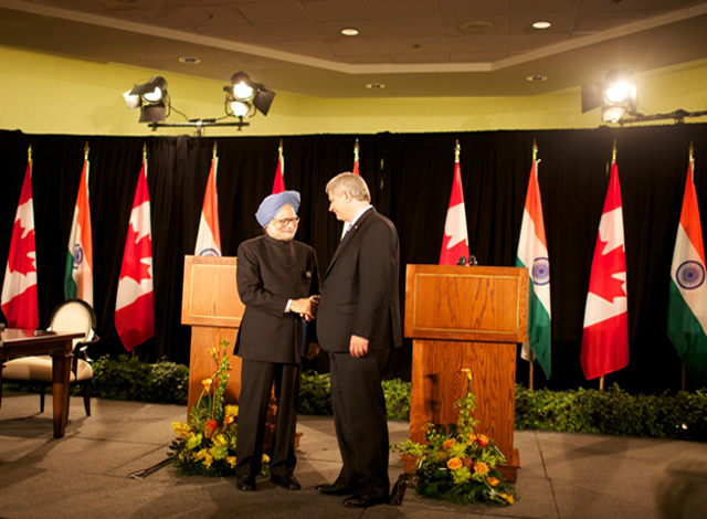 When the two PMs met in Toronto in June 2010