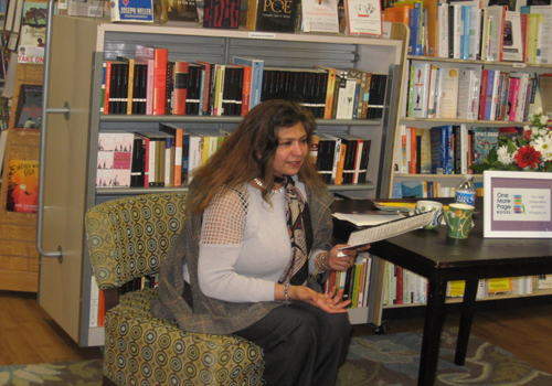 Indian American poet Sue Vijh captures imagination in DC