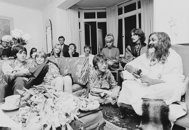 Beatles with the Yogi
