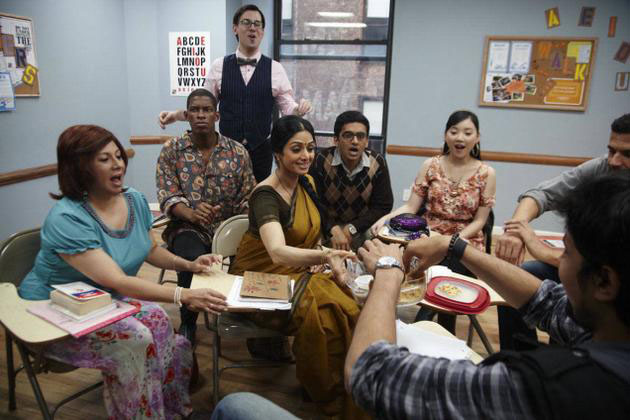 Sridevi is flawless in English Vinglish