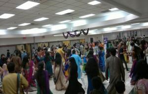 Garba dance in full flow