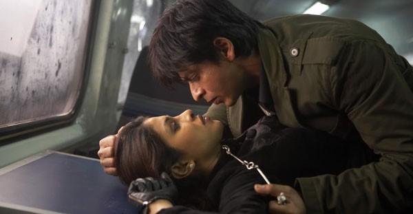 Priyanka with Shahrukh