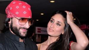 Saif Ali Khan and his hot wife Kareena