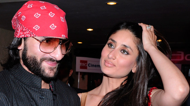 Hot brand-new wife Kareena with Saif