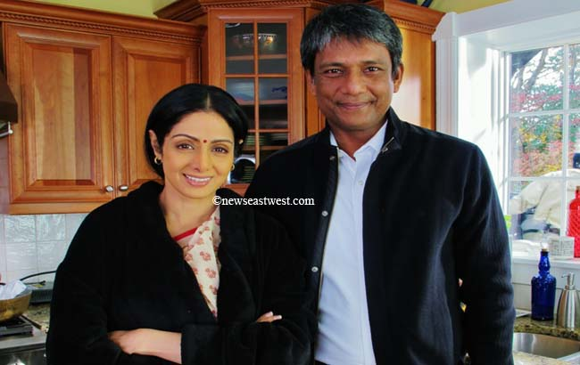 Sridevi's husband is now Tabu's too. What a lucky man!