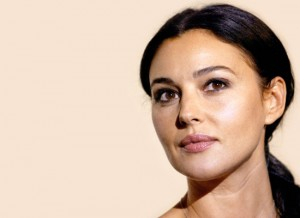 Monica Bellucci who may play Sonia Gandhi