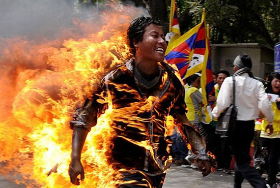 Why the world is silent on Tibet self-immolations