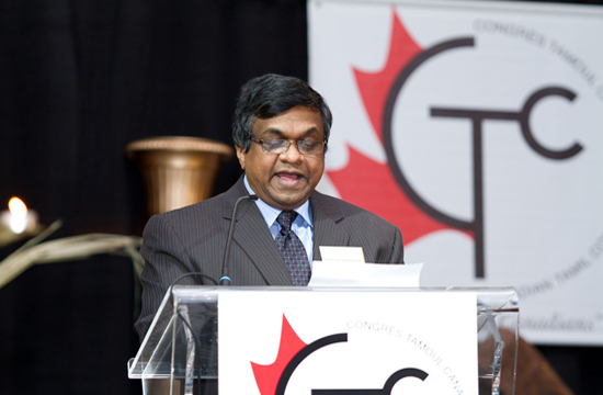 Canadian Tamils hail Harper for tough stand on Sri Lanka chief justice's sacking