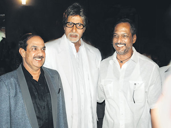 Amitabh with Nana Patekar