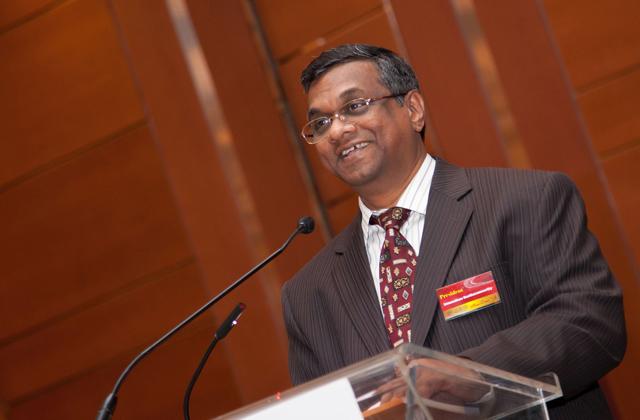 Canadian Tamil Congress president Umasuthan Suntharamoorthy