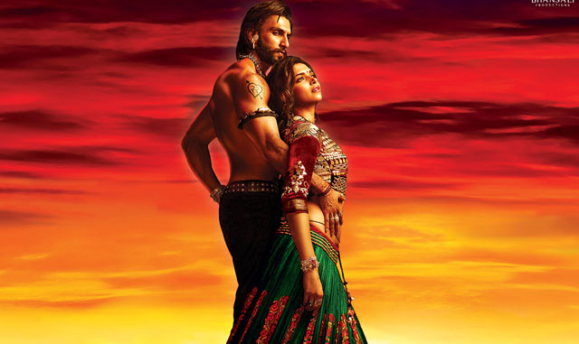 Deepika and Ranveer Singh in Ram Leela