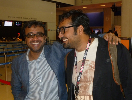 Dibakar Banerjee with Anurag