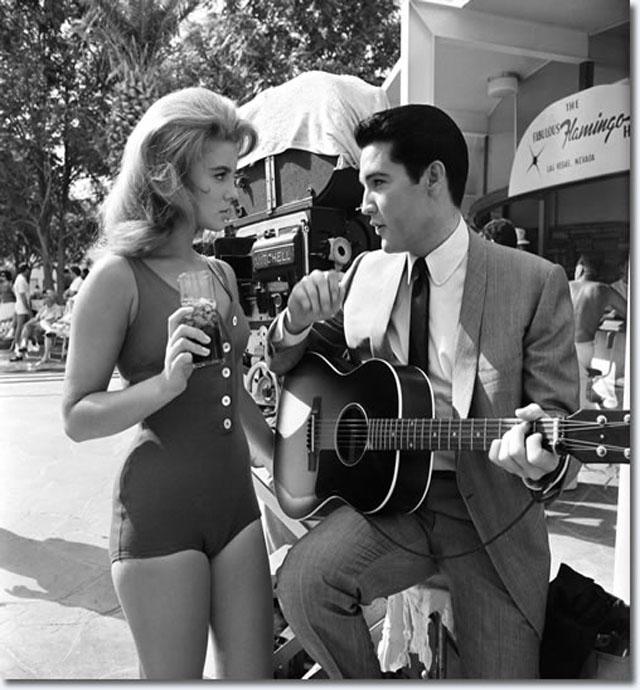 Elvis with Ann Margret