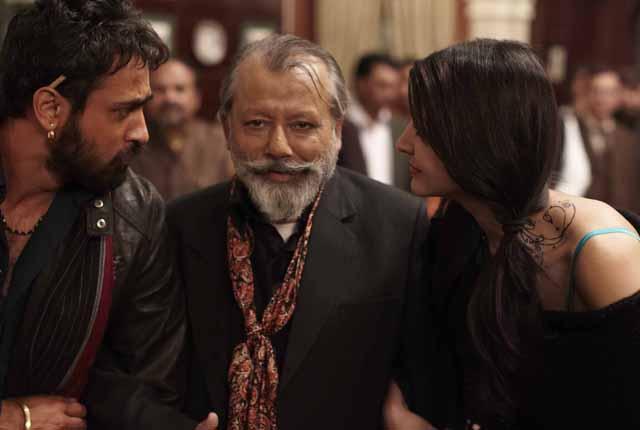 Pankaj Kapur seen in a scene in the film