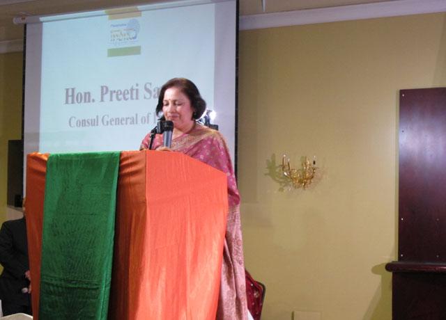 Consul General Preeti Saran