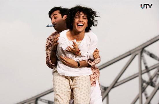 Ranbir Kapoor & Priyanka Chopra in Barfi