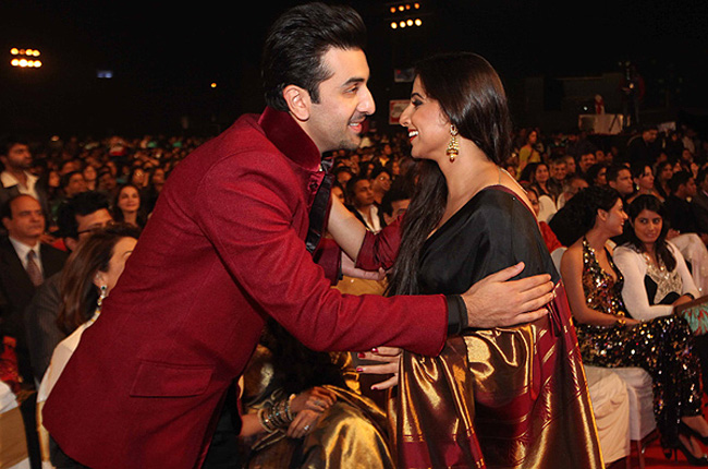 Ranbir and Vidya Balan