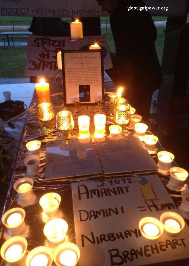 Candles for `Nirbhaya'