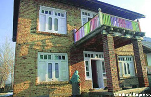 Afzal Guru's ancestral home in Doabagh near Sopore in Kashmir