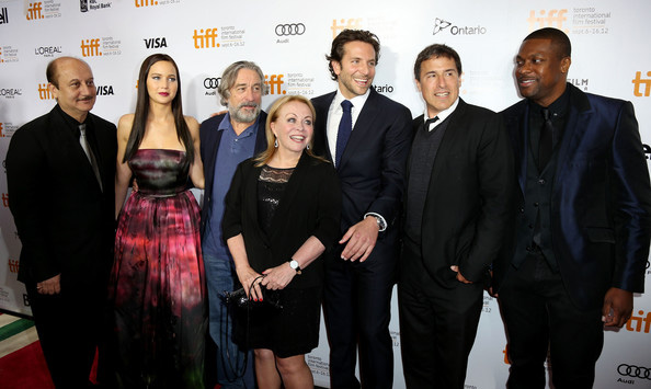 Anupam seen with Robert de Niro (third from left) and other members of the cast