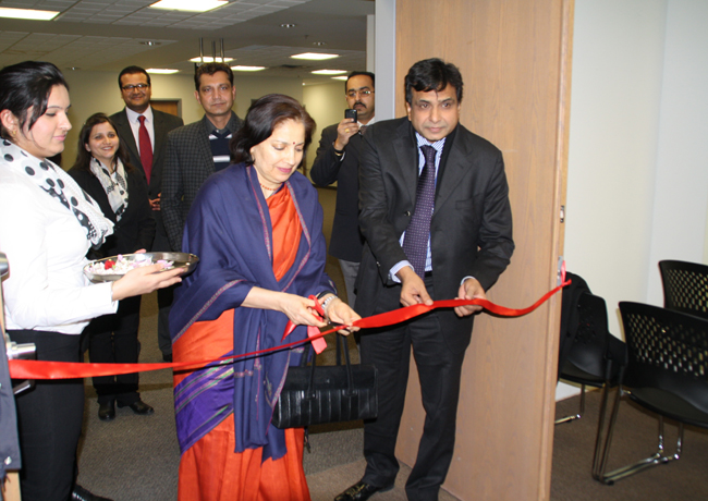 Consul General Preeti Saran formally opens the Indian visa office in Brampton, services to cost less