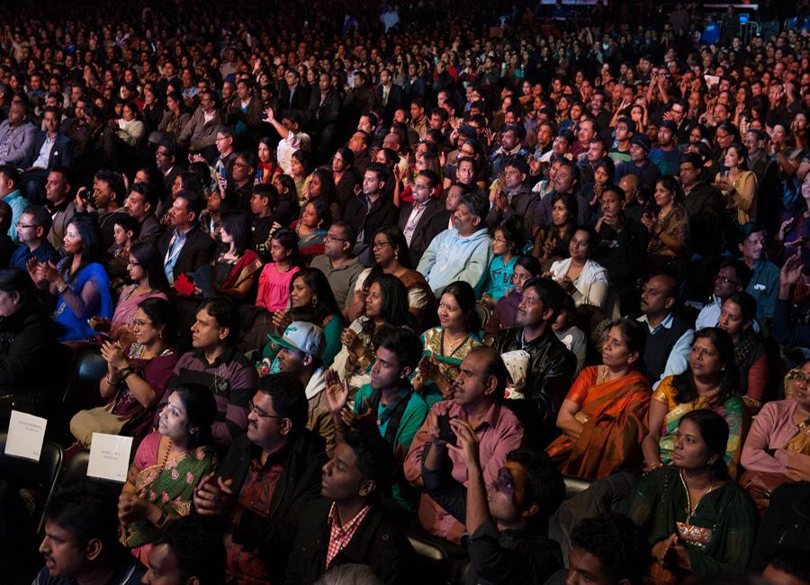 Ilayaraja  show in Toronto2