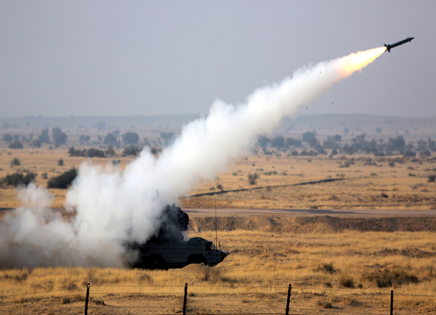 India's biggest firepower show