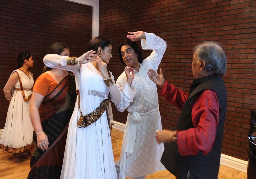 Kamal Haasan with Briju Maharaj