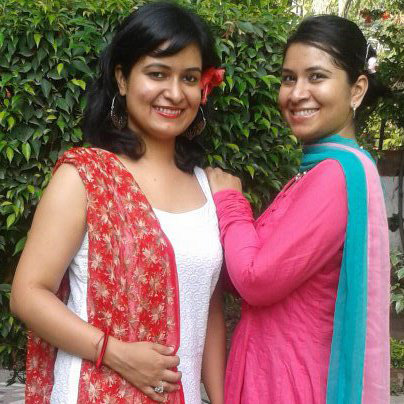Shireen Singh (left)