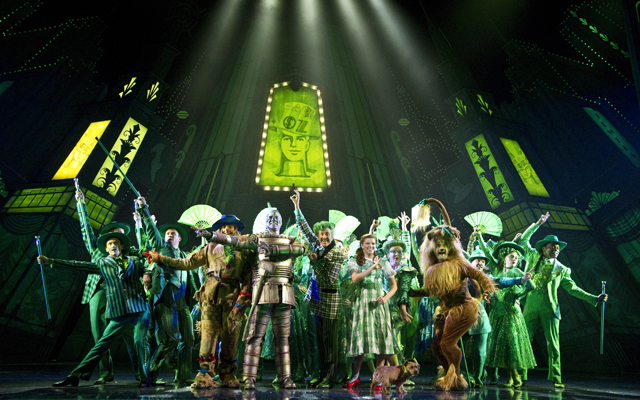Another scene from The Wizard of Oz being played at Ed Mirvish Theatre in Toronto. Photo by Cylla von Tiedemann