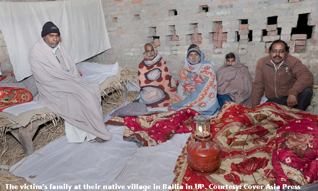The family of Delhi gangrape victim in their native village