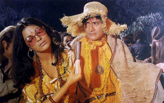Zeenie baby in Hare Rama, Hare Krishna