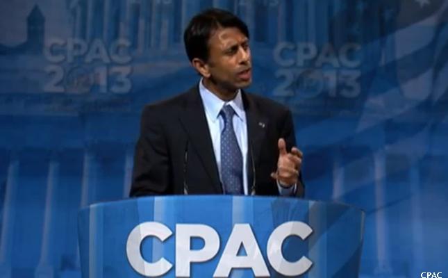 Bobby Jindal speaking at CPAC 2013