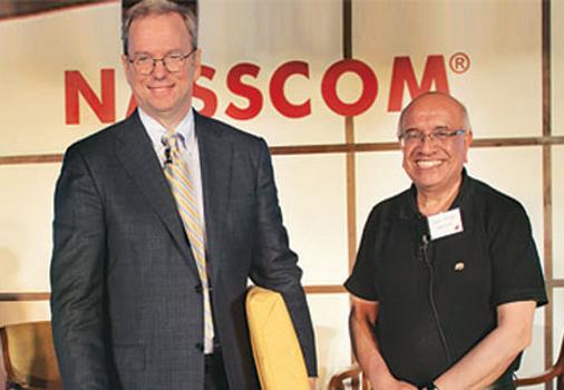 Google president at NASSCOM in New Delhi