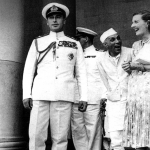 Nehru with Edwina