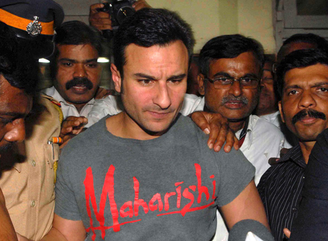 Saif also saw the inside of jail for hitting a person at Taj Hotel in Mumbai when he was out with Kareena and Malaika Arora for an evening.