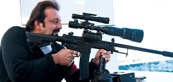 Sanjay Dutt in Knock Out