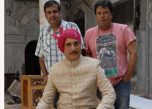 Tigmanshu Dhulia (right) with SBGR producer Rahul Mittra