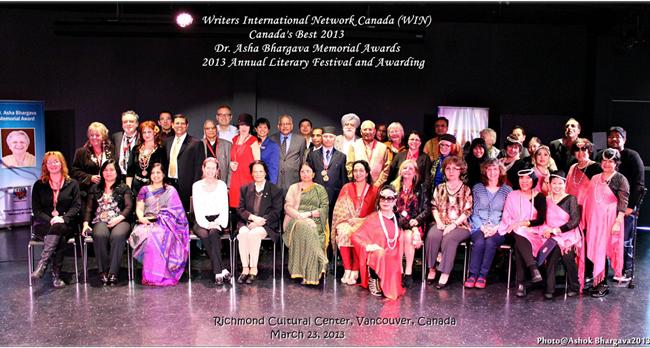 WIN Canada annual literary festival