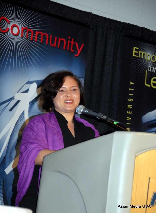 Keynote Speaker Laura Kina, Vincent de Paul Professor at DePaul University Department of Art, Media, & Design.