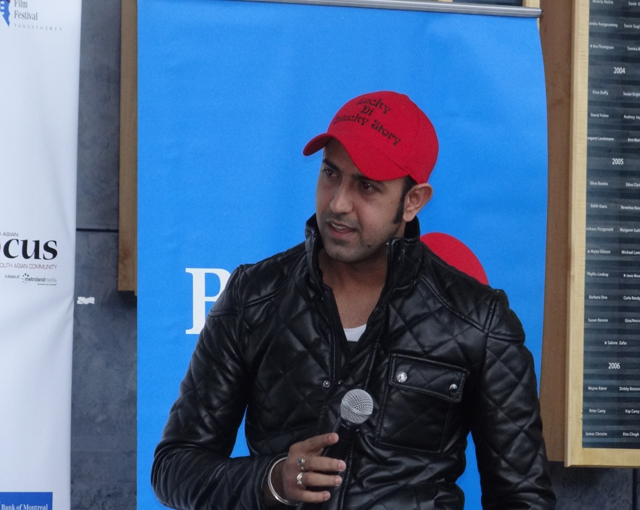 Punjabi actor Gippy Grewal at the media launch of PIFF 2013.