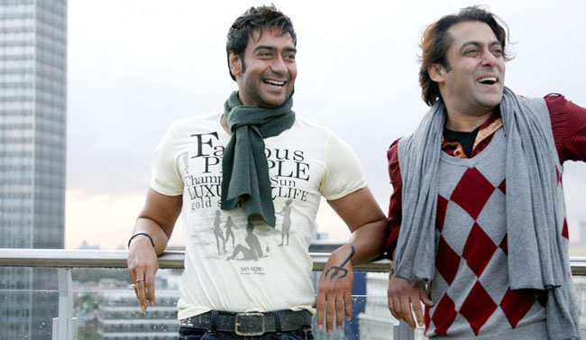 Ajay Devgan and Salman Khan