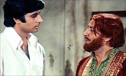 Amitabh and Pran in Zanjeer